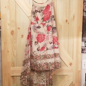 Band of Gypsies floral high low dress